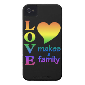 Love Makes a Family iPhone 4 Case-Mate