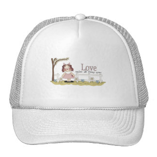 Love Makes All Things Grow Tshirts and Gifts Hat