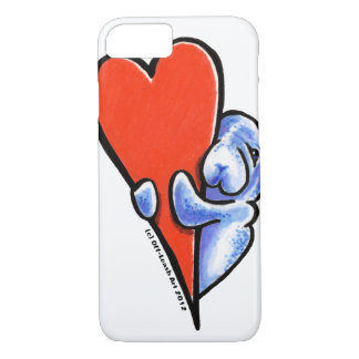 Love Manatees iPhone 8/7 Case