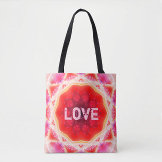 Love Mandala Tote Bag