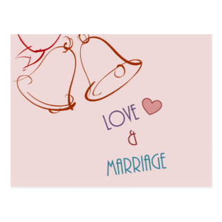 Love & Marriage Postcard