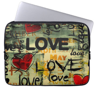 love marries laptop sleeve