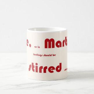 love Martinis Stirred, designs by JWB Coffee Mugs