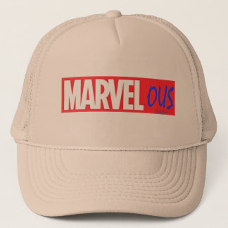 Love Marvel ? Marvelous by Chordy Goods Trucker Hat