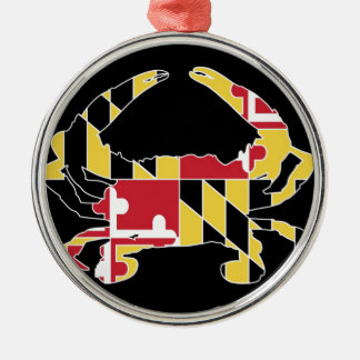 Love Maryland Christmas Ornament