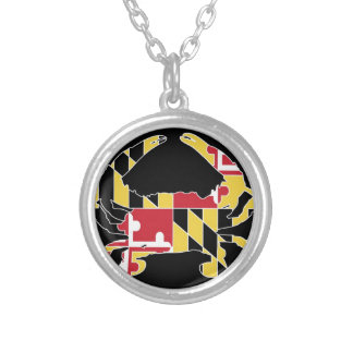 Love Maryland Silver Plated Necklace