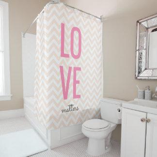 Love Matters Shower Curtain