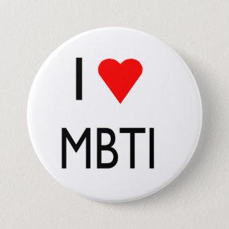 Love MBTI 7.5 Cm Round Badge
