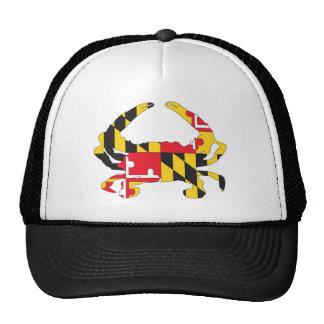 Love MD Flag Crab Mesh Hats