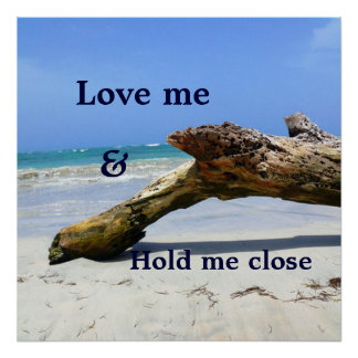 Love me and Hold me close Poster