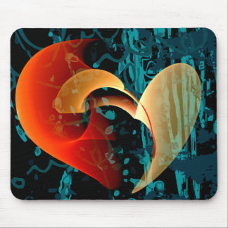 Love Me Brago-Mitchell Fine Fractal Art Mouse Mat