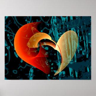 Love Me Brago-Mitchell Fine Fractal Art Poster
