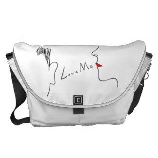 Love Me Courier Bag