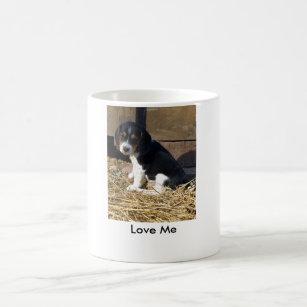 Love Me   Cute Beagle Puppy Snoopy Coffee Mug