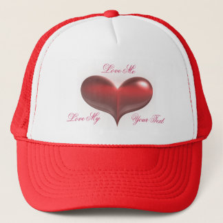 Love Me Hearts Trucker Hat