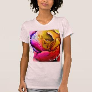 Love Me I'm a Flower Womens Shirt
