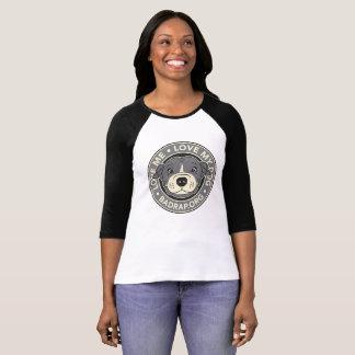 Love Me Love My Dog Jersey T-Shirt