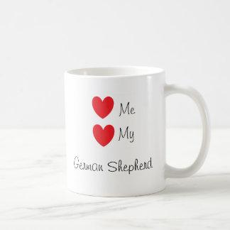 """Love me, Love my German Shepherd"" Mug"