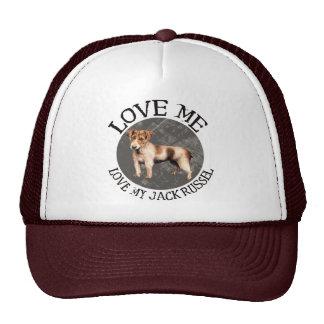 Love me, love my Jack Russel Cap