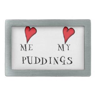 love me love my puddings, tony fernandes belt buckles