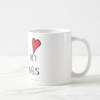 love me love my puddings, tony fernandes coffee mug