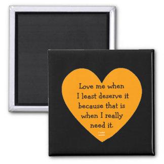 love me swedish proverb magnet