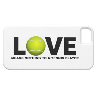 Love Means Nothing to a Tennis Player iPhone 5 Barely There iPhone 5 Case
