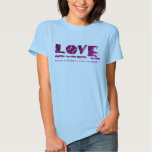 Love Means Nothing To A Tennis Player Shirt