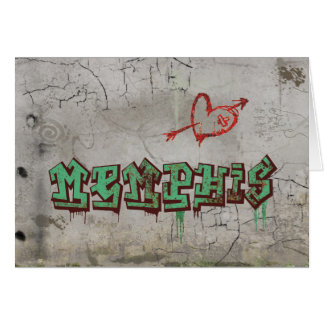 Love Memphis Greeting Card