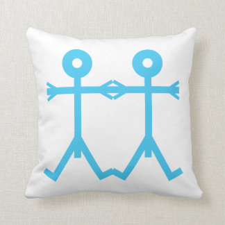Love Men Icon Art Cushion