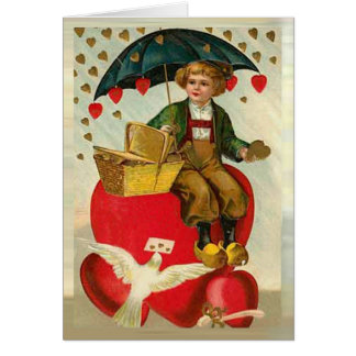 Love Messenger Greeting Card