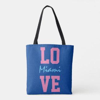 Love Miami Tote Bag