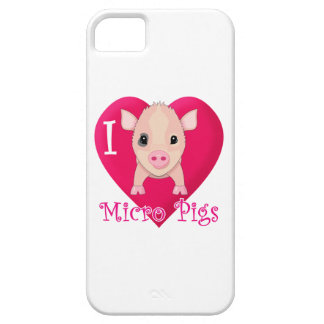 Love Micro Pigs Barely There iPhone 5 Case