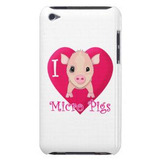 Love Micro Pigs iPod Case-Mate Cases