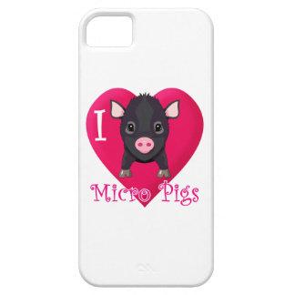 Love Micro Pigs iPhone 5 Case