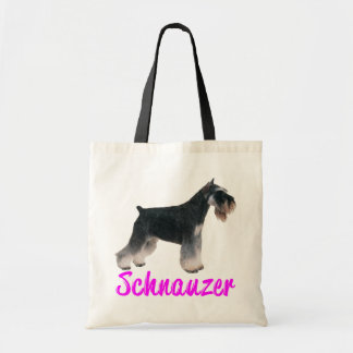 Love Miniature Schnauzer Dog Puppy Tote Bag