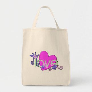 Love Mints Tote Bags, Beach Bags, Baby Diaper Bags