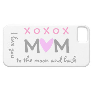 love mom to moon and back iphone case