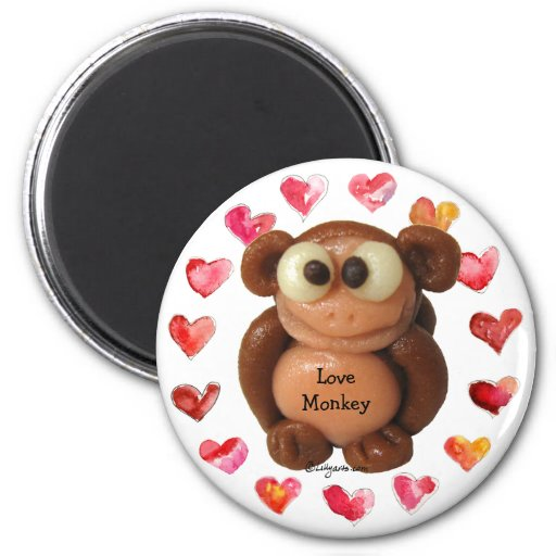 Love Monkey Personalized Magnets-Novelty Gifts