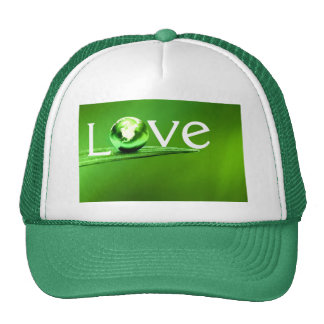 Love mother earth by healing love cap