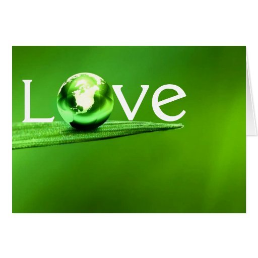 Love mother earth by healing love greeting cards