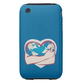 Love Mother Earth Tough iPhone 3 Covers