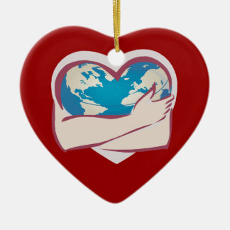 Love Mother Earth Christmas Ornament