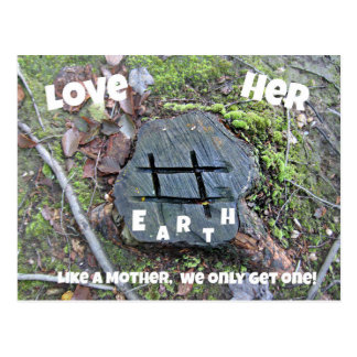 Love Mother Earth. Postcards