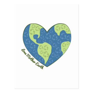 Love Mother Earth Postcards