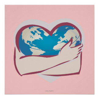 Love Mother Earth Poster