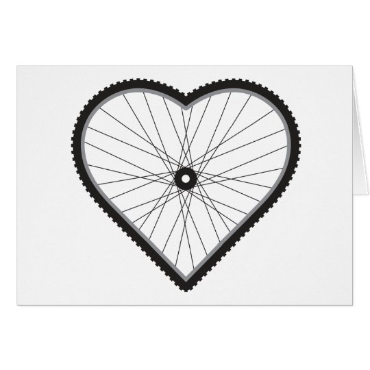 Love Mountain Biking Card