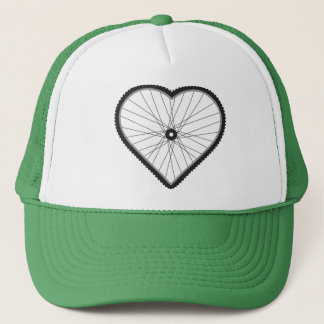 Love Mountain Biking Trucker Hat
