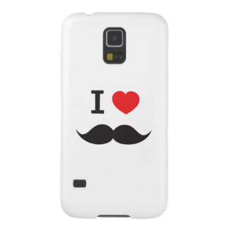 Love Moustache Galaxy S5 Cases