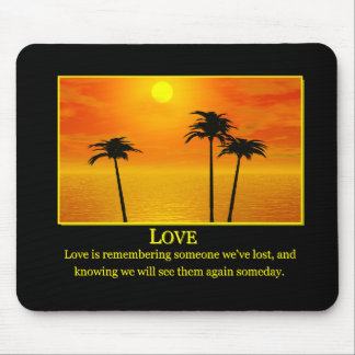 LOVE MP 2 MOUSE MAT